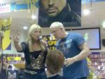 Beth Phoenix gestures as she stands next to Kennedy.jpg